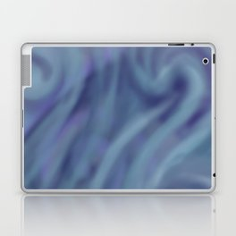 BLUE SWIRL Laptop & iPad Skin
