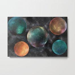 Bubbled Multiverse Metal Print