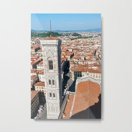 Giotto's Campanile in Florence Metal Print