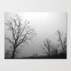 Tree of Ice Canvas Print