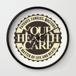 Your Healthcare Wall Clock