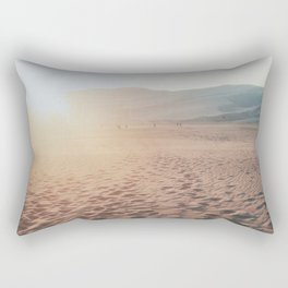 Desert Footprints Rectangular Pillow