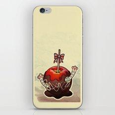 SWEET WORMS 2 - caramel apple iPhone & iPod Skin