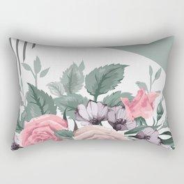 FLOWERS IX Rectangular Pillow