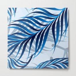Blue Tropic Metal Print