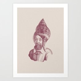 Haute Coiffure  /#5 Art Print