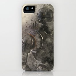 K-2SO Watercolor iPhone Case