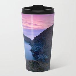 South Stack Lighthouse Sunset, Angelsey, Wales Travel Mug