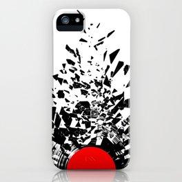Vinyl shatter iPhone Case