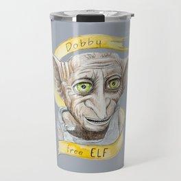 Dobby free Elf Harry Patter Travel Mug