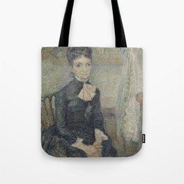 Portrait of Léonie Rose Charbuy-Davy Tote Bag
