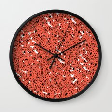 Ladybirds Wall Clock
