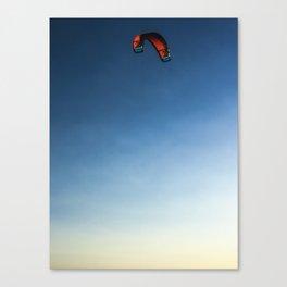 Parakite Solo (summer 1) Canvas Print