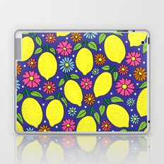Lemons & Flowers Laptop & iPad Skin
