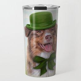 Dog breed Australian Shepherd, Aussie Travel Mug