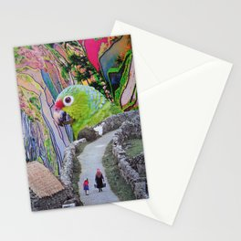 Parrot Path Stationery Cards
