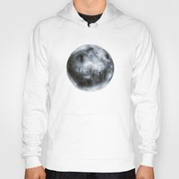 dark side of the moon Hoodies featuring The Dark Side of the Moon by Viviana Gonzalez