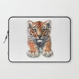 Playful Tiger Cub 907 Laptop Sleeve