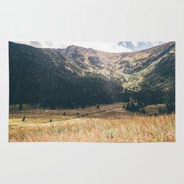 Hala Kondratowa Mountain Valley Landscape Rug