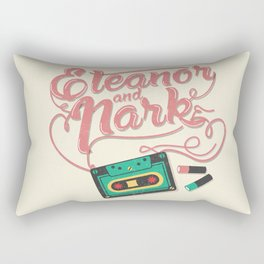 Eleanor and Park Rectangular Pillow