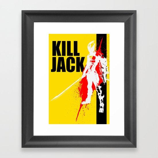 KILL JACK - ASSASSIN Framed Art Print