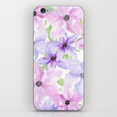 clematis vines iPhone & iPod Skin