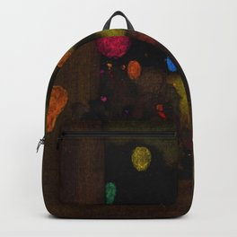 Festival of Lanterns, Twilight by Maxfield Parrish Backpack
