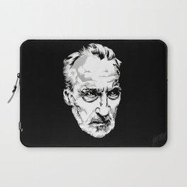 Sir Christopher Lee Laptop Sleeve