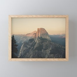 Half Dome III Framed Mini Art Print