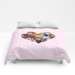 Trio Heart Comforters