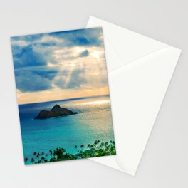Exotic Tropical Island Escape Stationery Cards