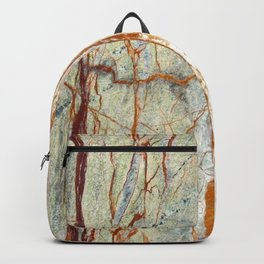 Colorful Textured Granite Backpack