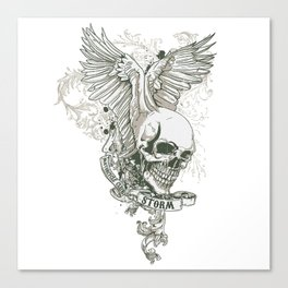 Storm MC Series Canvas Print