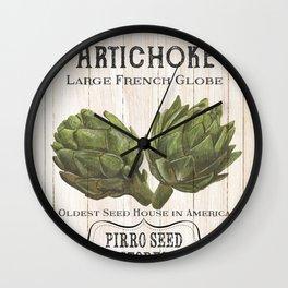 Organic Seeds 1 Wall Clock