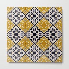 Tiles - VII Metal Print