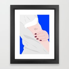 GRL POWER Framed Art Print