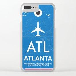 Hartsfield–Jackson Atlanta International Airport Clear iPhone Case
