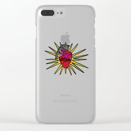 Sacred Grenade Clear iPhone Case