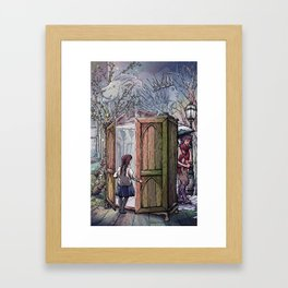 Lucy's Discovery Framed Art Print