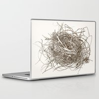 the wire Laptop & iPad Skins featuring Wire Nest by Sam Pash