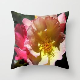 Prettyness Of A Rose Throw Pillow
