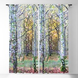 Whispering Woods Blackout Curtain