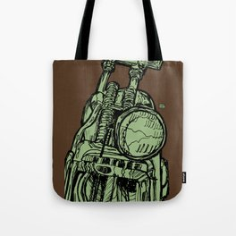 MOTORCYCLE HEADLIGHT Tote Bag