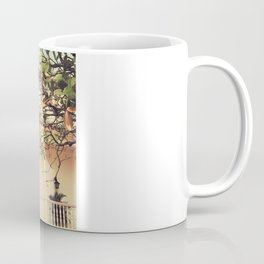 Colourful Summer Old House (Retro and Vintage Urban, architecture photography) Coffee Mug