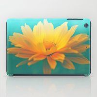 sunflower iPad Cases featuring SUNFLOWER  by Monika Strigel