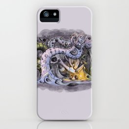The Forest of Improbable Shapes iPhone Case