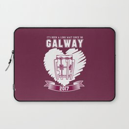 All Ireland Hurling Champions: Galway (Maroon/White) Laptop Sleeve