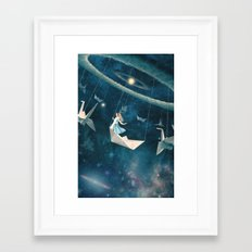 My Favourite Swing Ride Framed Art Print