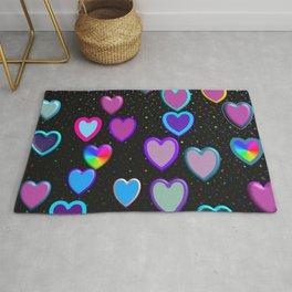 Confetti Hearts Rug