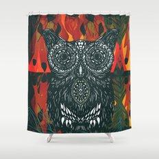 Forest Folk Shower Curtain